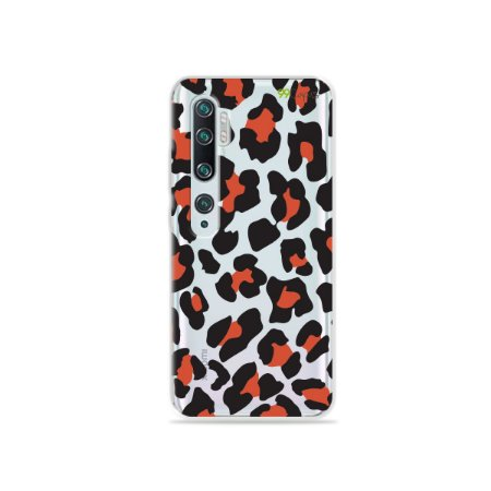 Capa para Xiaomi Mi Note 10 - Animal Print Red