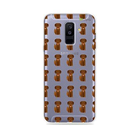 Capa para Galaxy A6 Plus - Golden