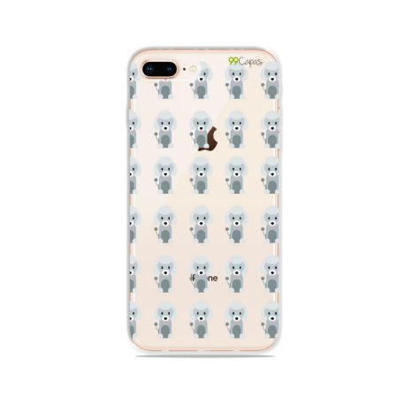 Capa para iPhone 8 Plus - Poodle