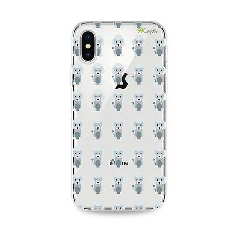Capa para iPhone X/XS - Poodle