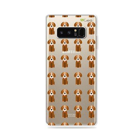 Capa para Galaxy Note 8 - Cocker