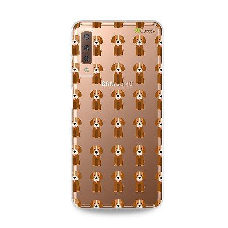 Capa para Galaxy A7 2018 - Cocker