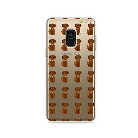 Capa para Galaxy A8 2018 - Golden