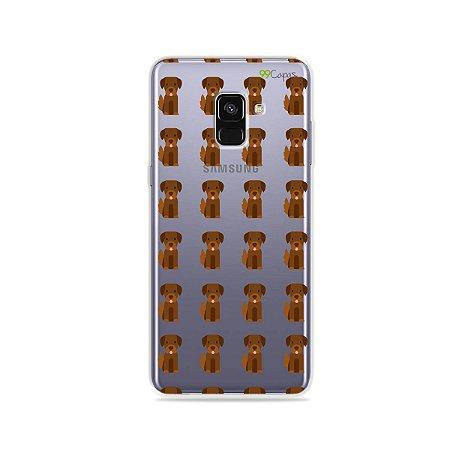 Capa para Galaxy A8 Plus 2018 - Golden