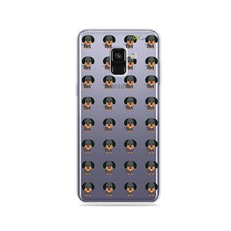Capa para Galaxy A8 Plus 2018 - Salsichinha