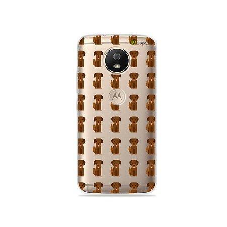 Capa para Moto G5S - Golden