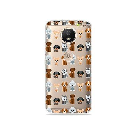 Capa para Moto G5S - Doguinhos