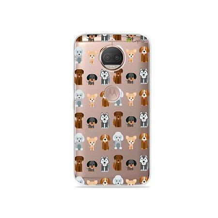 Capa para Moto G5S Plus - Doguinhos