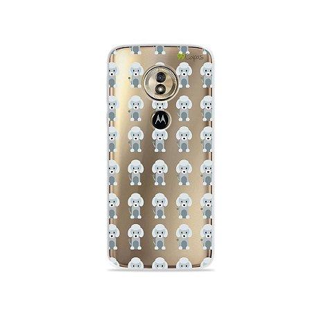 Capa para Moto G6 Play - Poodle