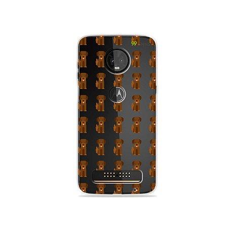 Capa para Moto Z3 Play - Golden