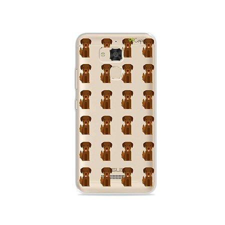 Capa para Asus Zenfone 3 Max - 5.2 Polegadas - Golden
