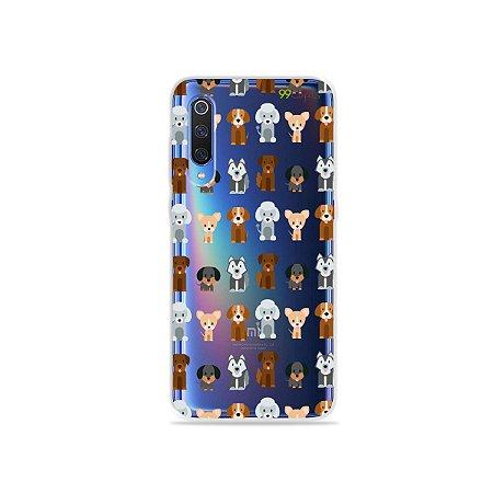 Capa para Xiaomi Mi 9 - Doguinhos