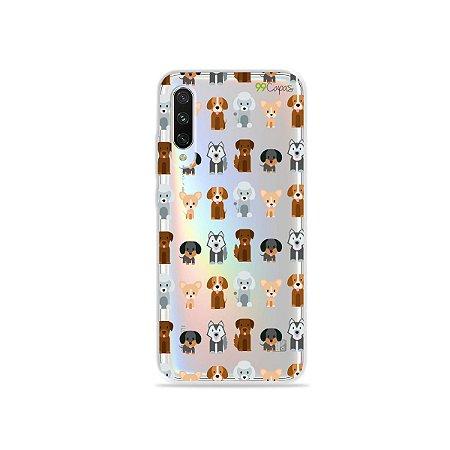 Capa para Xiaomi Mi A3 - Doguinhos