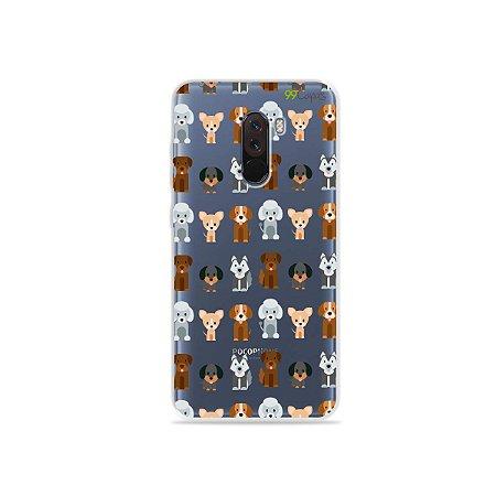 Capa para Xiaomi Pocophone F1 - Doguinhos