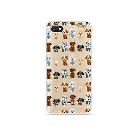 Capa para Xiaomi Redmi 6A - Doguinhos