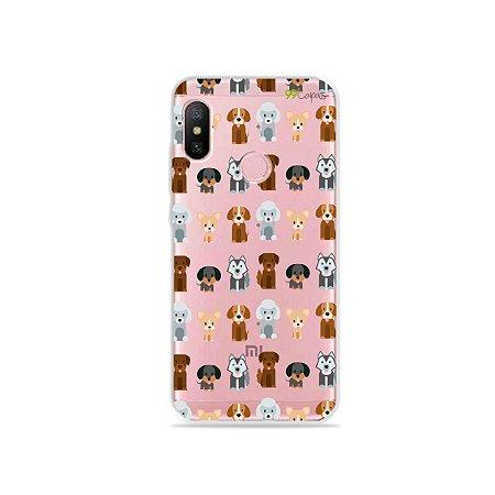 Capa para Xiaomi Redmi Note 6 - Doguinhos