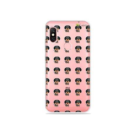 Capa para Xiaomi Redmi Note 6 Pro - Salsichinha