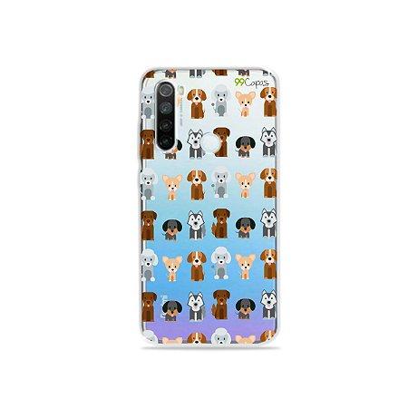 Capa para Xiaomi Redmi Note 8 - Doguinhos