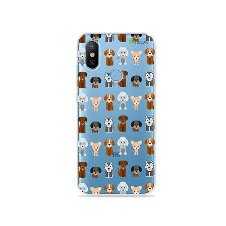 Capa para Xiaomi Mi 8 - Doguinhos