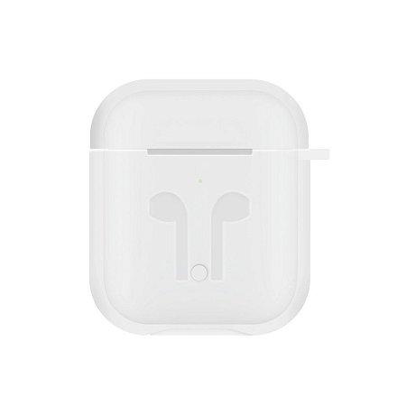 Capinha de Silicone para Aipods (Branca) - 99Capas
