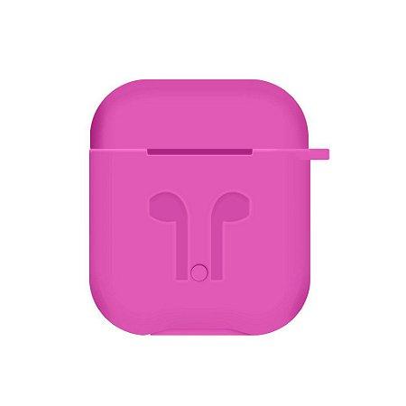 Capinha de Silicone para Aipods (Pink) - 99Capas