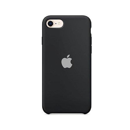 Silicone Case Preta para iPhone 7 - 99Capas