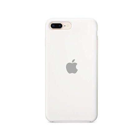 Silicone Case Branca para iPhone 7 Plus - 99Capas