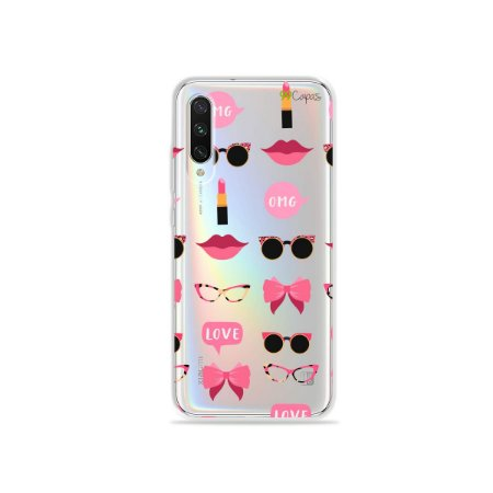 Capa (transparente) para Xiaomi Mi A3 - Girls