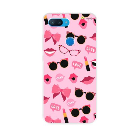 Capa para Xiaomi Mi 8 Lite - Feminine