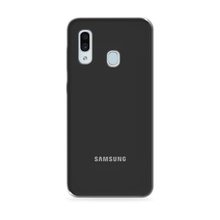 Silicone Case Preta para Galaxy A30 - 99Capas