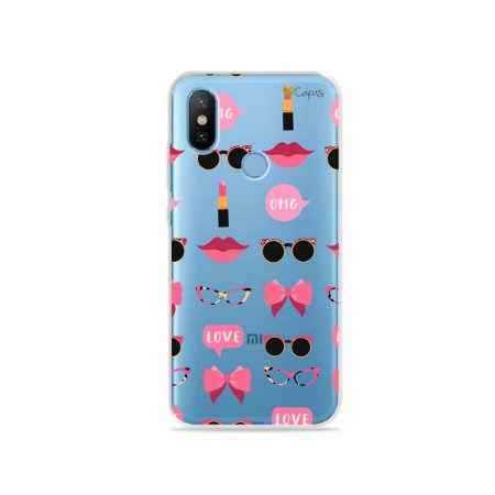 Capa (transparente) Xiaomi Mi 8 - Girls