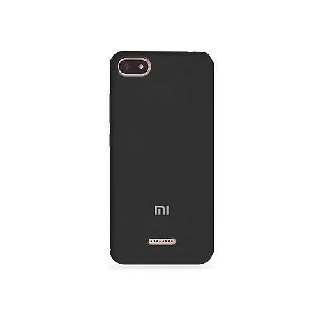 Silicone Case Preta para Xiaomi Redmi 6 - 99Capas