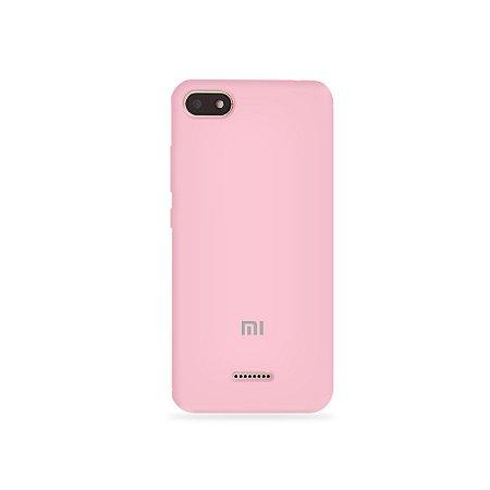 Silicone Case Rosa Claro para Xiaomi Redmi 6 - 99Capas