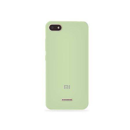 Silicone Case Menta para Xiaomi Redmi 6 - 99Capas