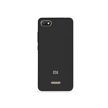 Silicone Case Preta para Xiaomi Redmi 6A - 99Capas