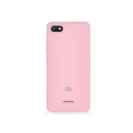 Silicone Case Rosa Claro para Xiaomi Redmi 6A - 99Capas