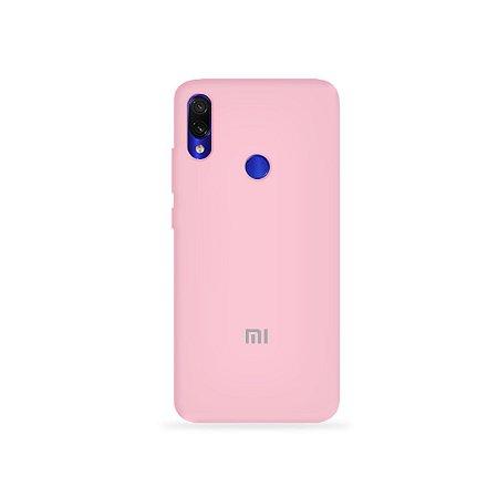 Silicone Case Rosa Claro para Xiaomi Redmi 7 - 99Capas