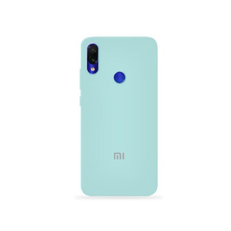 Silicone Case Azul Claro para Xiaomi Redmi 7 - 99Capas