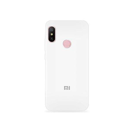 Silicone Case Branca para Xiaomi Redmi Note 6 - 99Capas