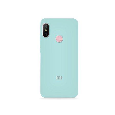 Silicone Case Azul Claro para Xiaomi Redmi Note 6 - 99Capas