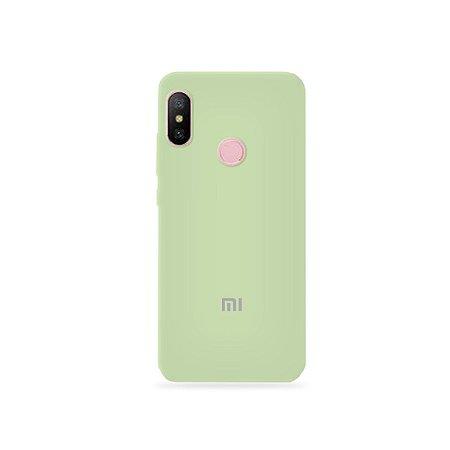 Silicone Case Menta para Xiaomi Redmi Note 6 - 99Capas