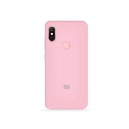 Silicone Case Rosa Claro para Xiaomi Redmi Note 6 Pro - 99Capas