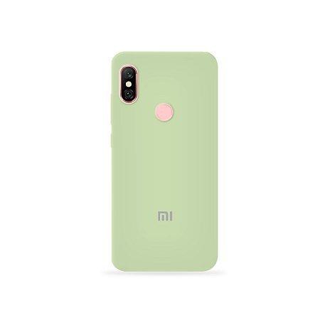 Silicone Case Menta para Xiaomi Redmi Note 6 Pro - 99Capas