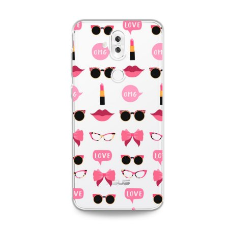 Capa (transparente) para Zenfone 5 Selfie Pro - Girls