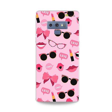 Capa para Galaxy Note 9 - Feminine