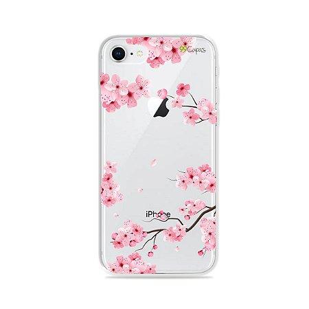 Capa para iPhone 8 - Cerejeiras