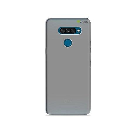 Capa Fumê para LG K50s {Semi-transparente}