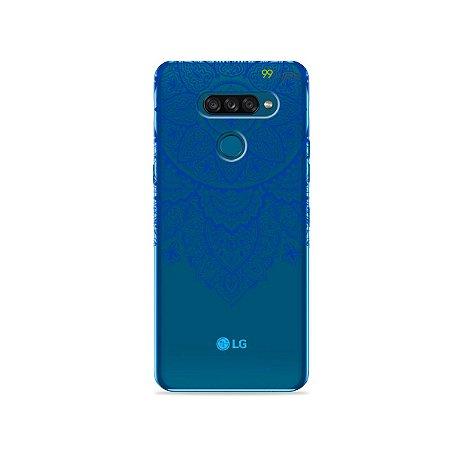 Capa para LG K50s - Mandala Azul