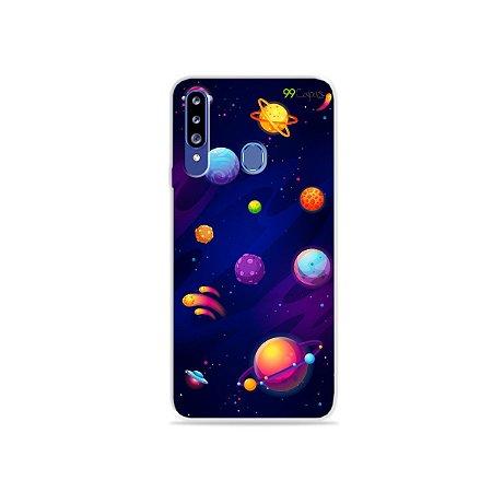 Capa para Galaxy A20s - Galáxia