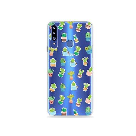 Capa para Galaxy A20s - Cactus